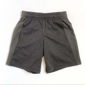 Champion kids gray elastic waist athletic shorts